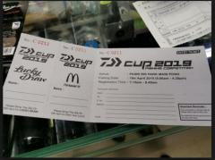 WTS Daiwa Cup Competition 2019 Ticket