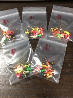 Micro jigheads (12pcs/bag)