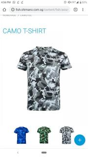 Shimano dry fit camo white