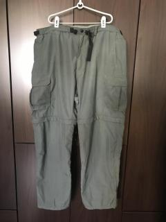 Nylon Convertible Fishing Pants 2XL
