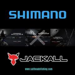 SHIMANO X JACKALL FISHING RODS