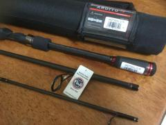 "Daiwa Ardito 7'6"" medium light action travel spinning rod. ARDT763MLXS-TR."