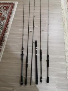 Various rods for sale