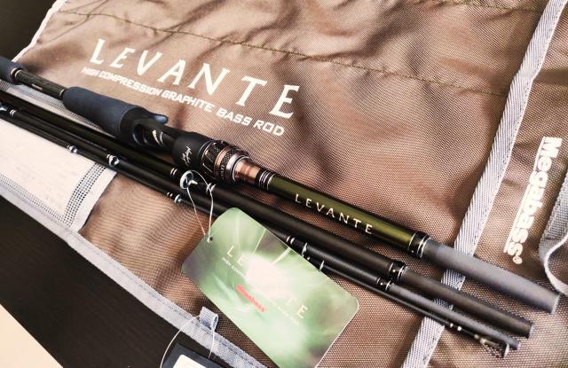 2019 New Megabass Levante Baitcast Travel Rod 4 Pc