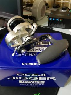Shimano Ocea Jigger 1501HG Left Handle