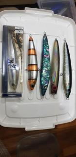 Price revised: Big GT lures.