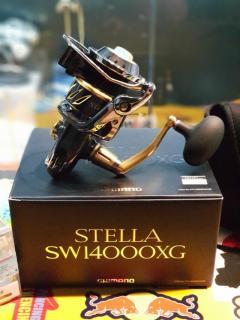 Shimano Stella 14000XG + 8000 SOM Spool