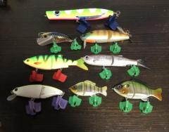 Swimbaits, Topwater and Surface Cruiser Lures for Toman/Snakehead, Peacock Bass