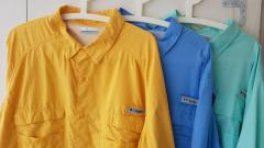 Columbia PFG fishing shirt